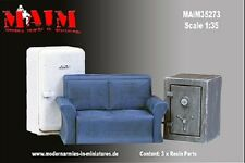 1/35 Scale Resin kit Furniture Set (Safe, Sofa, Refrigerator)