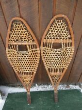 """Old Snowshoes 42"""" Long x 13"""" Wide Great for Decoration"""