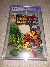 1965 Marvel Tales of Suspense #71 Cgc 7.0