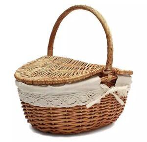 Picnic Basket - Wicker (Brand New)
