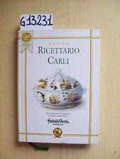 NUOVO RICETTARIO CARLI - EDITORE FRATELLI CARLI - 2001
