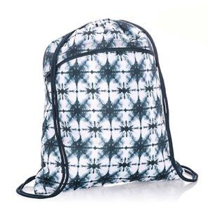 Thirty-one Bag Cinch Sac Backpack Indigo Burst