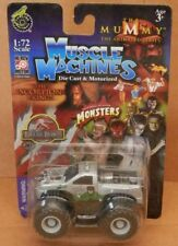 Muscle Machines Monster Bigfoot Ford F-Series Wolfman Truck Silver 1:72 HI-REV