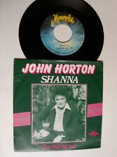 "JOHN HORTON : Shanna / Toe blijf bij mij 7"" 45T 1980 Belgium MONOPOLE S. 1859"