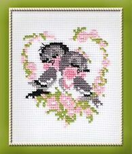 RIOLIS  524  FIRST LOVE  COUNTED CROSS STITCH KIT