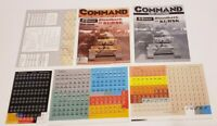 XTR Command Magazine & Game #36 SS Panzer - Bloodbath at Kursk  UNPUNCHED