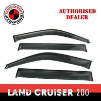 Weathershields Weather shields Toyota LandCruiser 200 Series 07-20 Window Visors