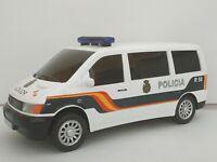 1:32 FURGON POLICIA NACIONAL ESTILO MERCEDES VITO COCHE METAL A ESCALA DIECAST