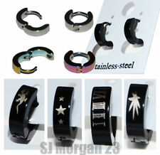 Stainless Steel Cuff Costume Earrings