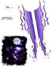 "Sic Designs ""Night Demon"" Sticker Sheet SIC002"