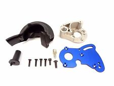 NEW TRAXXAS 1/10 SUMMIT MOTOR MOUNT SET WITH HEAT SINK GEAR COVER SCREWS 5607