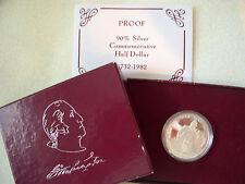 1982 George Washington Silver Proof Half Dollar
