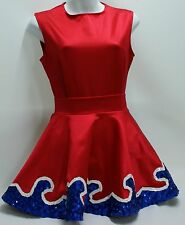 Dance (drill team) costume for dancers, skaters, or twilers