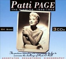 The Singles 1946-1952 Patti Page Audio CD..3 X CDS..BOX SET..NEW & SEALED
