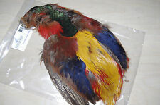 NATURES SPIRIT FLY TYING FEATHERS GOLDEN PHEASANT SKIN