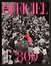 'L'OFFICIEL' FRENCH MAGAZINE NUMBER 800 ISSUE NOVEMBER 1995