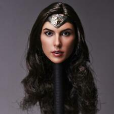 1/6 Gal Gadot Wonder Woman Customized Head Sculpt for Hottoys Phicen Female Body