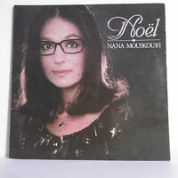 """33 tours Nana MOUSKOURI Disque Vinyle LP 12"""" NOËL Noel PHILIPS 6399095 F Réduit"""