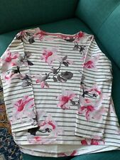 Joules Size 16 Long sleeve Top Striped