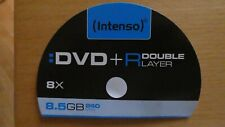 DVD + R Rohlinge Intenso 8,5 GB Double Layer 4 Stück jew. im Case