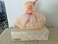 "Vintage Nancy Ann Storybook Doll ~ #189 March Bisque 6.5"" Box"