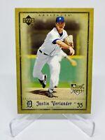 2006 Upper Deck Artifacts Justin Verlander Rookie Card Detroit Tigers #63