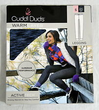 Cuddl Duds Women Warm Base layer leggings warmer Bottom Sz Small NIP #B116
