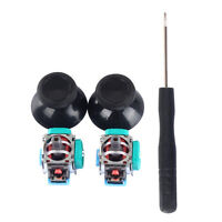 2Pcs 3D Analog Joystick Axis Sensor Module Replacement + Thumbstick for Sony PS4