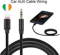 Adattatore AUX Jack da 3,5 mm per cavo Lightning Auto per iPhone 7 8 X XR ios 12