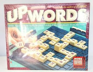 Up Words, Milton Bradley, New in Package, 3 Dimensional Scrabble 1997