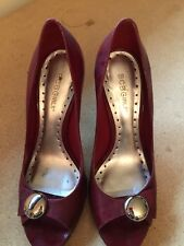BCBG red high heel shoes size 7.5