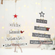 Christmas Decorations Tree Ornament Patterned Hanging Accessories Supplies RU