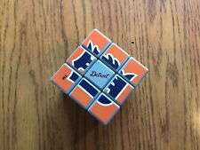 USED! Detroit Tigers Rubiks Cube Orange Blue Games Icon  Mindgame