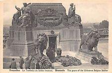 BF34696 le tombeau du soldat inconnu   bruxelles  belgium front/back scan