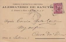 A5020) S. GIOVANNI A MARE A S. ELIGIO (NAPOLI), FABBRICA OREFICERIA DE SANCTIS.