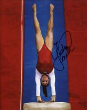 JORDYN WIEBER HAND SIGNED 8x10 COLOR PHOTO+COA      AMAZING GYMNASTIC POSE