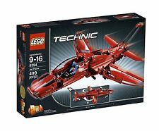 LEGO Technic Jet Plane (9394)2-in-1 Jet Plane Retired - with box *100% COMPLETE