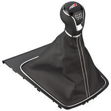 Seat Leon 5F Schaltknauf Cupra mit Schaltsack mit Silber Nähte Knauf knob