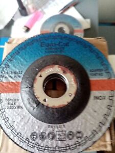 Euro Cut 115mm x 6mm Stainless Grinding Discs Dated 06/2022