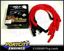 Eagle Spark Plug Leads Holden V8 10.5mm Kingswood VB Socket Type RED E105808R