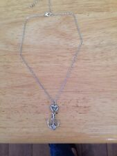 And Heart Necklace Pretty Pendant/charm Anchor