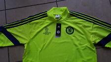 Adidas Chelsea London Sweatshirts gelb (neon) neu Größe XL Wunschflock möglich