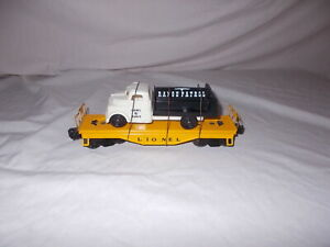 RARE LIONEL#6151  RANCH RANGE PATROL TRUCK &  ORANGE FLAT CAR LOT #N-68