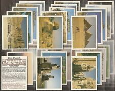 PLAYERS TOM THUMB-FULL SET- WONDERS OF THE ANCIENT WORLD (L32 CARDS) - EXC+++
