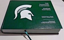 The Tradition Continues Michigan State Spartans Football Nice HC  book NEW MSU