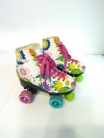 SteMax child Skates, Floral, SIZE 34 US SIZE 3