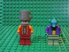 Lot of 2 LEGO STAR WARS minifigures Onaconda Farr + Nute Gunray 8036 minifigs