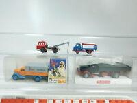 BH76-0,5# 4x Wiking H0/1:87 LKW: Hanomag+Harvester+Opel Beru etc, NEUW+2x OVP