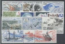 TERRES AUSTRALES FSAT - 1989 - ANNEE INCOMPLETE P + PA - TIMBRES NEUFS LUXE **
