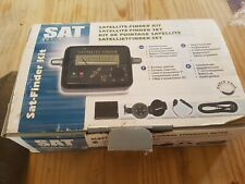 Satellite Finder Kit by Marco Polo Satellite System  New Boxed  Old Stock